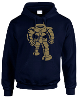 MANBOT HOODIE - INSPIRED BY SHELDON COOPER THE BIG BANG THEORY